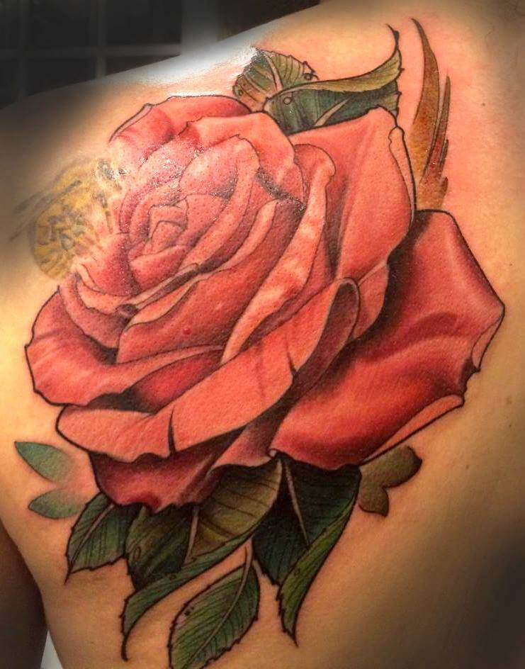 Color realism rose